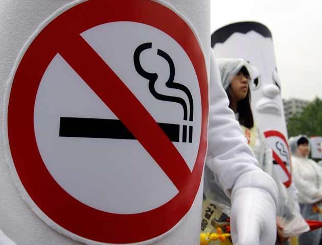 O quadro deixei de beber e fumar